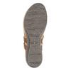 Ladies' leather sandals weinbrenner, brown , 566-4101 - 26