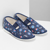 Children's slippers, blue , 379-9012 - 26