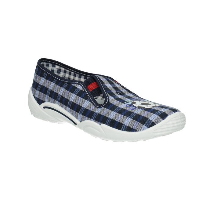 Children's slippers mini-b, blue , 379-2212 - 13
