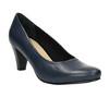 Ladies´ leather pumps bata, blue , 624-9601 - 13