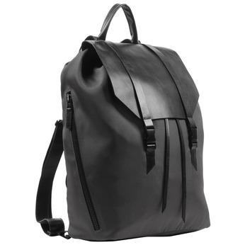 Black backpack royal-republiq, black , 964-6208 - 13