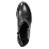 Ladies' leather ankle boots bata, black , 594-6611 - 26