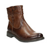 Western-style leather ankle boots bata, brown , 594-4611 - 13