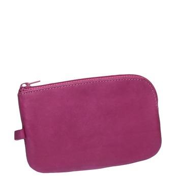 Leather purse bata, violet , 944-5161 - 13