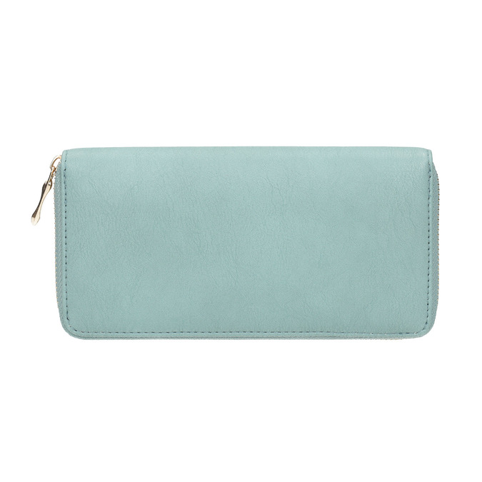 Purse with metal features bata, turquoise, 941-9150 - 19