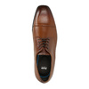 Men´s leather shoes in the Derby style bata, brown , 826-4736 - 19