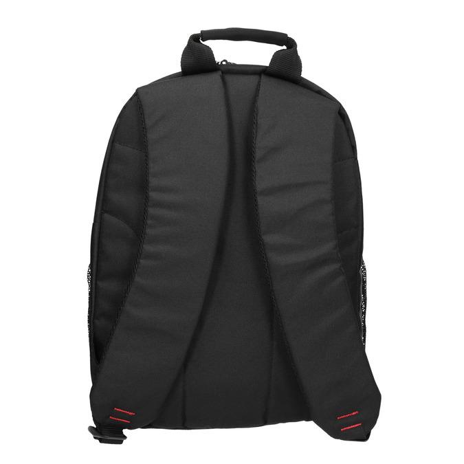 Quality laptop backpack, black , 969-2395 - 19