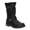 Girls' insulated high boots mini-b, black , 391-6653 - 13