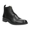 Leather ankle-cut shoes vagabond, black , 894-6001 - 13