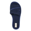 Ladies' slippers with bow bata, blue , 579-9609 - 19