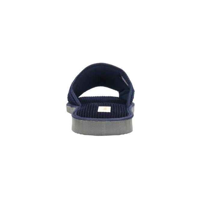 Men's slippers bata, blue , 879-9608 - 17