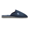 Men's slippers with full toe bata, blue , 879-9605 - 15