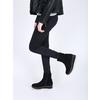 Flatform ankle boots bata, black , 699-6601 - 18