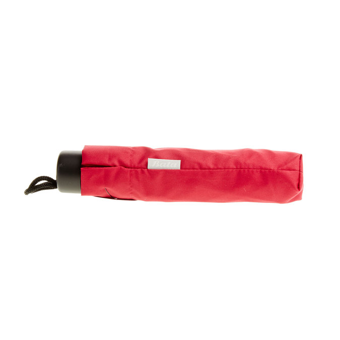 Red telescopic umbrella bata, red , 909-5600 - 16