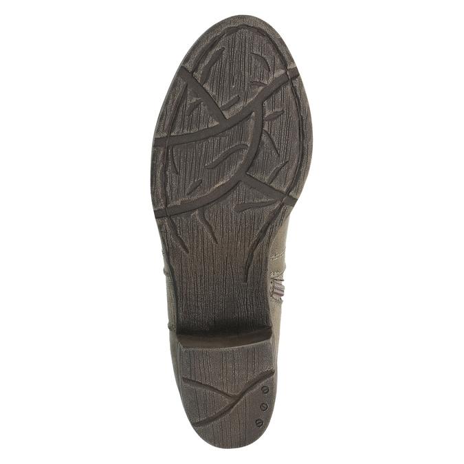 Ladies´ ankle-cut Cossacks bata, gray , 699-2632 - 26