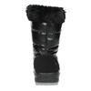 Black snow boots with fur weinbrenner, black , 591-6617 - 17