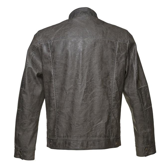 Men's quilted jacket bata, brown , 971-2194 - 26