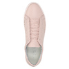 Pink leather sneakers vagabond, pink , 624-8019 - 19