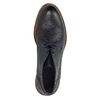 100% leather ankle boots bata, blue , 826-9909 - 19
