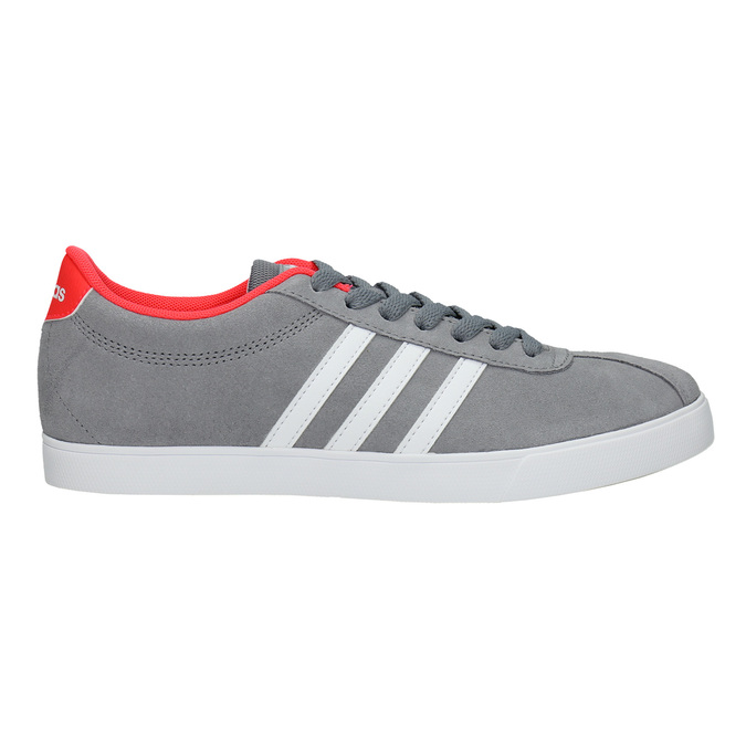 Ladies' grey sneakers adidas, gray , 503-2976 - 15