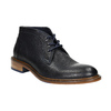 100% leather ankle boots bata, blue , 826-9909 - 13