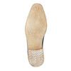 Blue leather shoes bata, blue , 826-9801 - 26