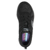 Sneakers with memory foam skechers, black , 509-6963 - 19