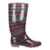 Children's wellington boots with stripes mini-b, multicolor, 492-6112 - 15