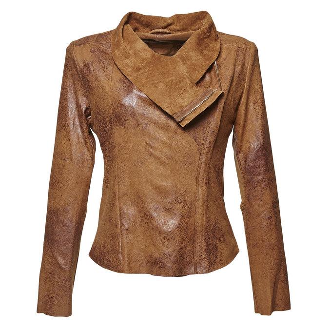 Lightweight ladies' jacket bata, brown , 979-3635 - 13