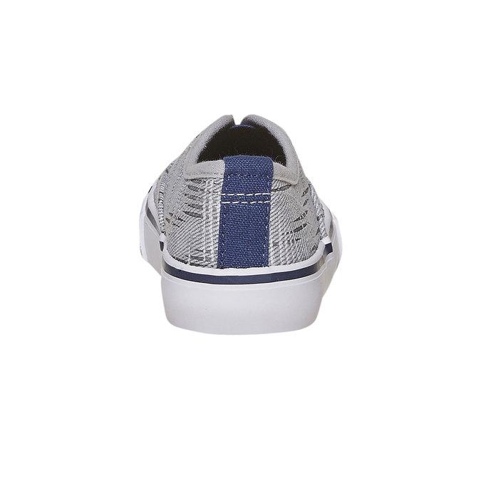 Children's slip-on shoes north-star, gray , 219-2154 - 17