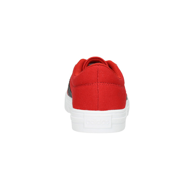Children's red sneakers adidas, red , 389-5119 - 17
