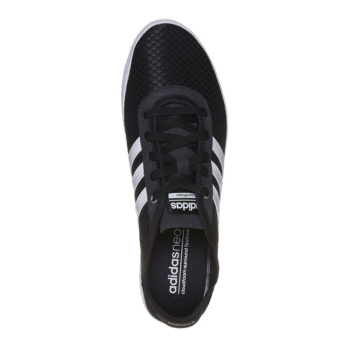 Ladies' breathable sneakers adidas, black , 509-6489 - 19