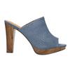 Mule slip-ons bata, blue , 769-9615 - 15