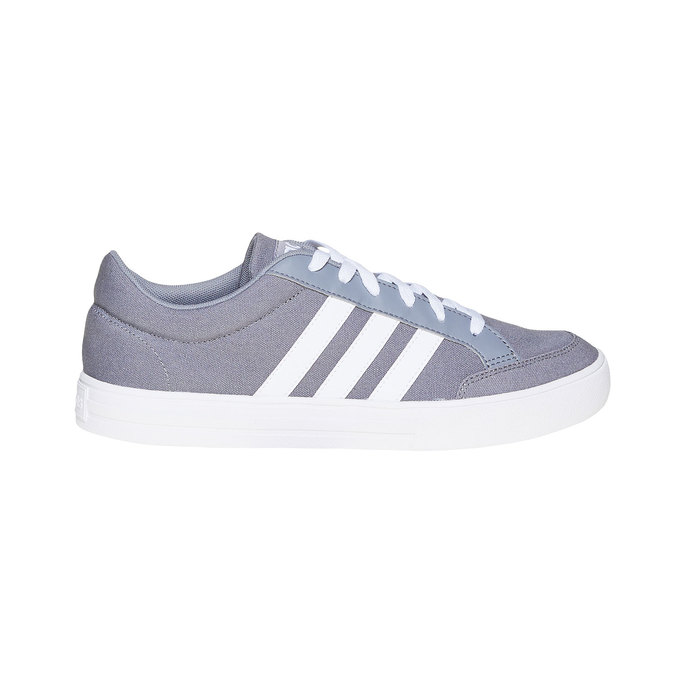 Men's grey sneakers adidas, gray , 889-2235 - 15