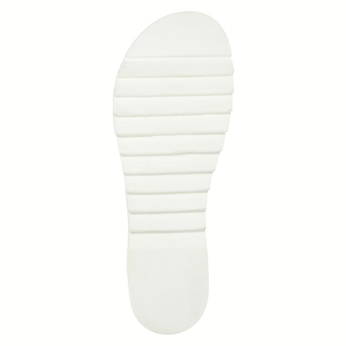 Ladies' interlacing leather sandals weinbrenner, brown , 566-4628 - 26