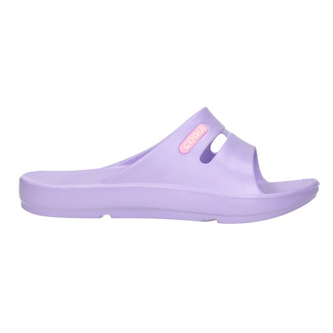 Ladies' purple slip-ons coqui, violet , 572-9607 - 15
