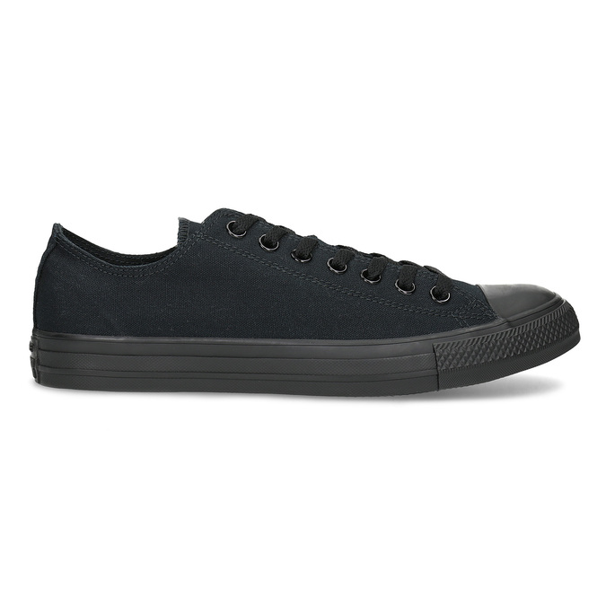 Men's black sneakers converse, black , 889-6279 - 19