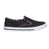 Ladies' slip-ons with coloured trim north-star, black , 589-6440 - 15