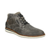 Grey leather ankle boots bata, gray , 826-2912 - 13