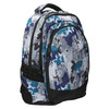 School backpack with print bagmaster, gray , 969-2649 - 13