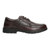 Men's casual shoes with stitching comfit, brown , 824-4987 - 15