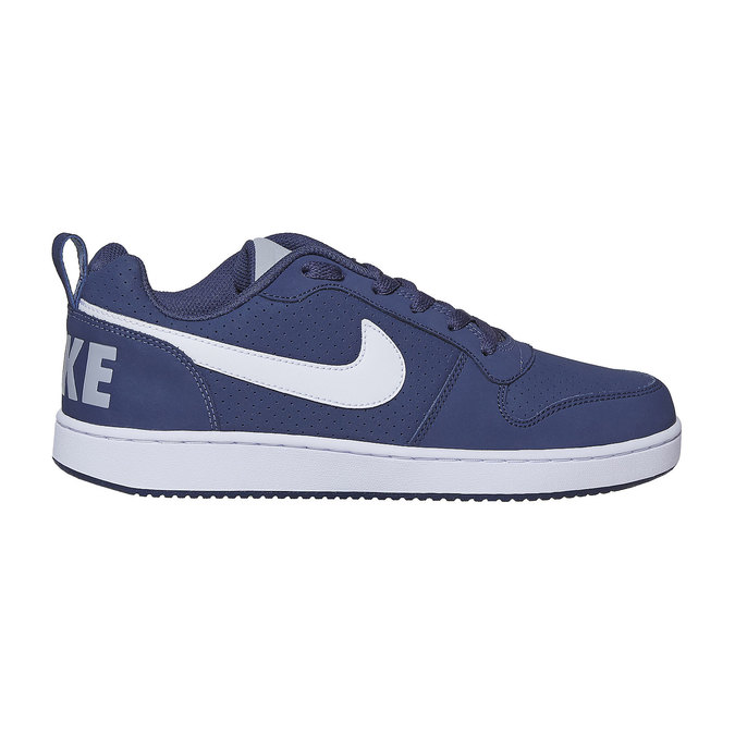 Casual men's sneakers nike, blue , 801-9154 - 15