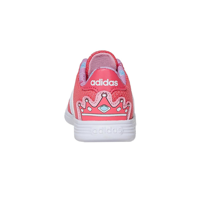 Girls' pink sneakers adidas, pink , 109-5288 - 17