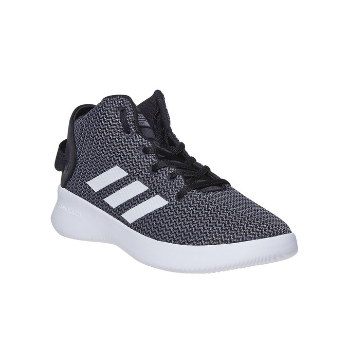 Men's high-top sneakers adidas, gray , 809-6216 - 13