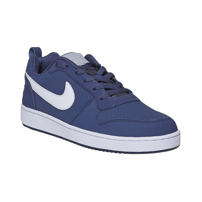 Casual men's sneakers nike, blue , 801-9154 - 13