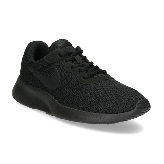 Men's black sneakers nike, black , 809-0557 - 13