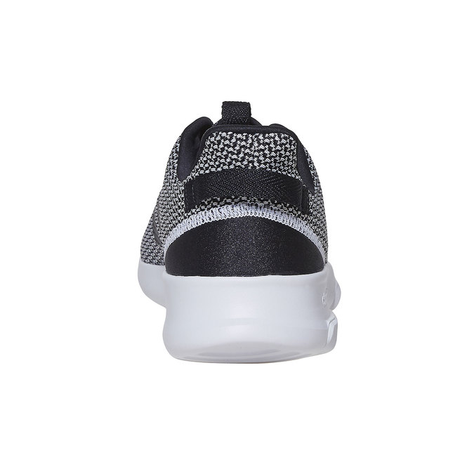 Sneakers in a sport design adidas, black , 809-6201 - 17