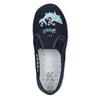 Kids' slippers with a shark mini-b, blue , 379-9213 - 19