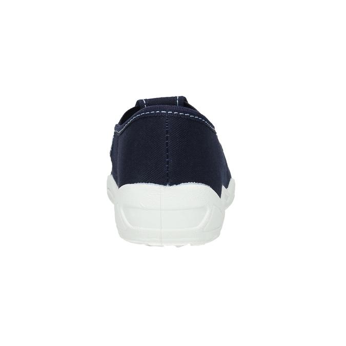 Kids' slippers with a shark mini-b, blue , 379-9213 - 17