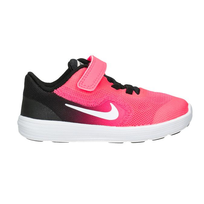 Girls' Pink Sneakers nike, pink , 109-5132 - 26